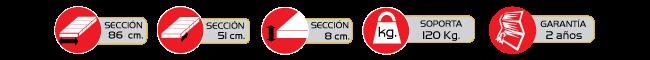 Epescificaciones Colchon Neumatico ROHO Mattress