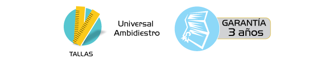 Especificaciones Inmovilizador para Rodilla Exoform Ergonomico